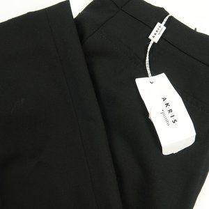 Akris Punto Franca Wool Seamed Trousers Size 4